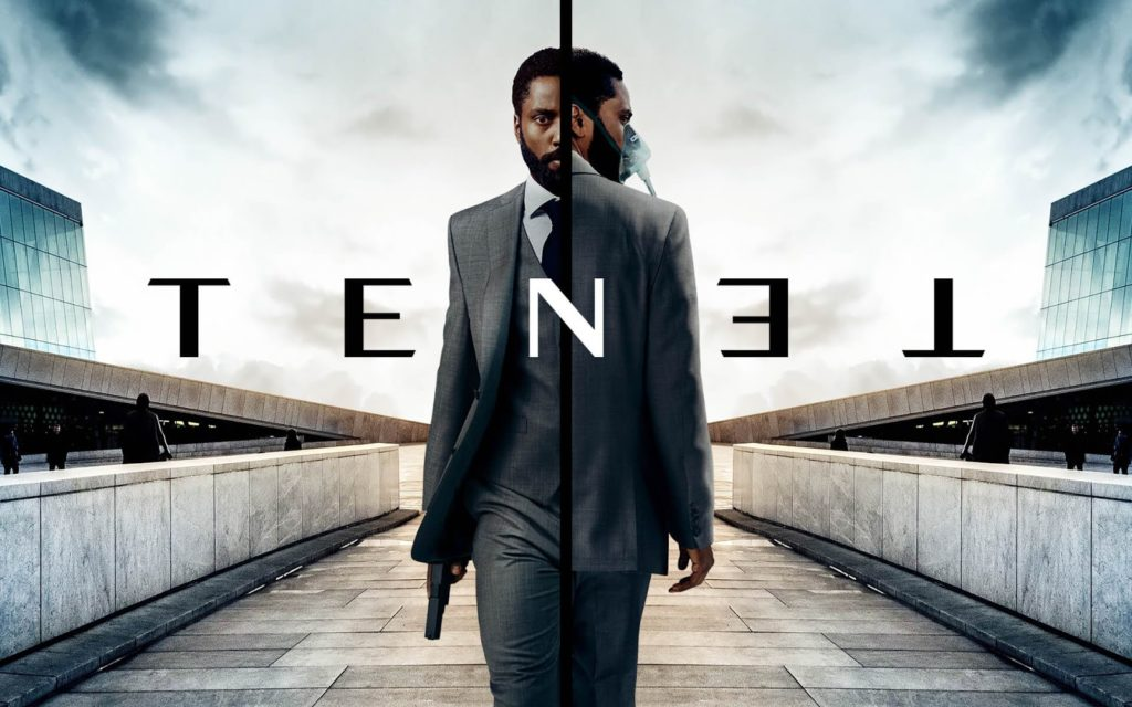 Affiche de Tenet avec John David Washington de Christopher Nolan