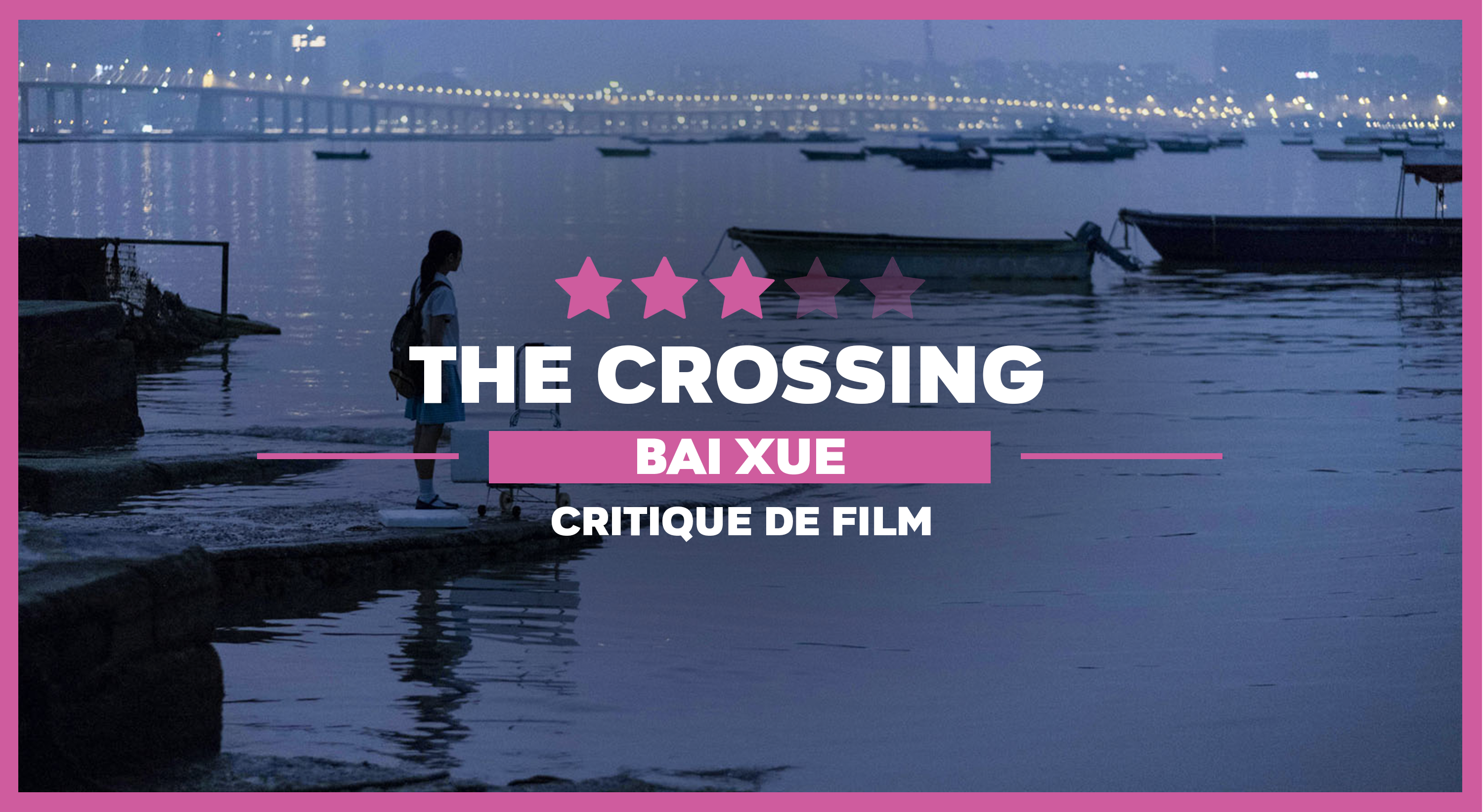 The Crossing fille au bord de l'eau