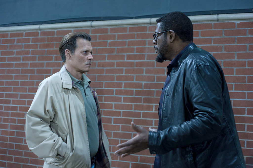 Johnny Depp face à Forest Whitaker